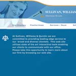 New Bedford Law Office of Estate Attorneys Sullivan Williams and Quintin.
