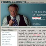 "New Bedford Law Office of Personal Injury Attorneys d""Oliveria and Associates."